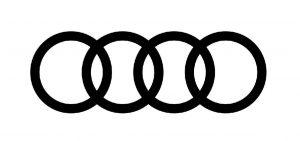 Audi logo 4 rings.