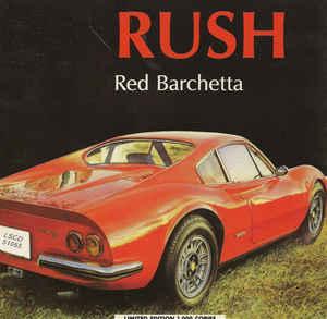 Rush Red Barchetta Album Cover