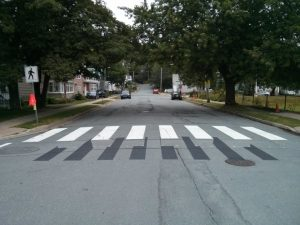 3-D pedestrian crossover in Halifax